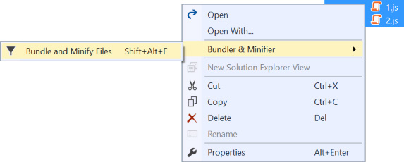 Bundler and Minifier